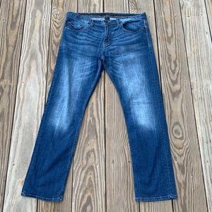 Calvin Klein Mens Skinny Narrow Leg DenimJeans
